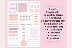 Printable Planner Stickers, Stickers cut files, BuJo Sticker Product Image 3