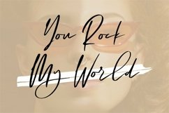Web Font Honestly - A Beauty Signature Font Product Image 2