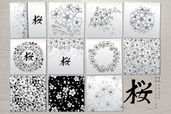 Vector cherry blossom collection Product Image 5