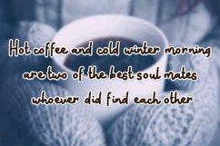 Snow Doodle | Handwritten Monoline Web Font Product Image 3