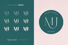 Matterdi   Hi-fashion ligature font Product Image 4