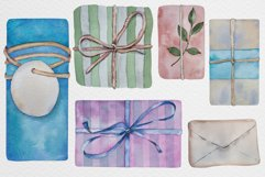 Watercolor gift boxes and tags Product Image 5