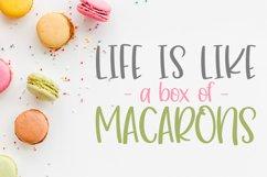 Caramel Macaron Product Image 2