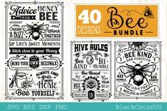 Bee Bundle SVG 40 designs Product Image 11