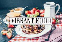 Vibrant Food Photography Mobile & Desktop Lightroom Presets Product Image 1