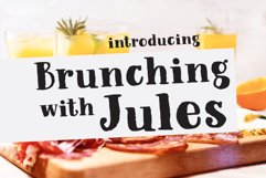 Breakfast Foodie, a painted serif font Product Image 3