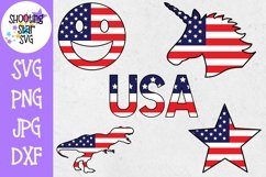 American Flag - Fourth of July SVG Bundle - 20 designs! Product Image 3