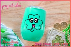 CONNY THE CLOVER SVG St Patrick's Day Zentangle Design Product Image 8