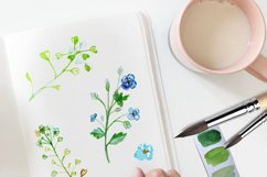 Daisies Bouquet Watercolor Clipart  Product Image 2
