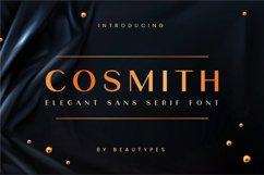 Cosmith | Elegant Sans Serif Font Product Image 1