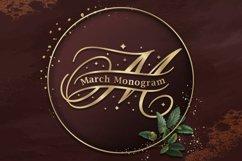 March Split Monogram Product Image 1