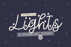 LIGHTS a Sparkling Script Product Image 1