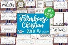 Farmhouse Svg, Christian Svg, Farmhouse Sign Bundle 3, Home Product Image 1