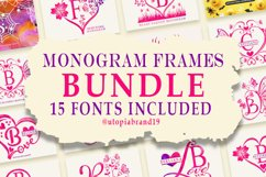 Monogram Frames Bundle Product Image 1