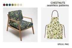 CHESTNUTS vector seamless patterns Product Image 3