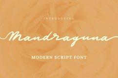 Web Font Mandraguna Font Product Image 1
