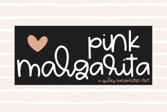 Pink Margarita - A Quirky Handwritten Font Product Image 1