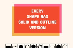 200 Simple Shapes Brushes For Procreate Product Image 2