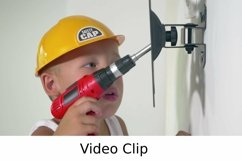 Video: Child playing a repair at home Product Image 1
