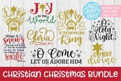 Christian Christmas Bundle SVG DXF EPS PNG Cut Files Product Image 1