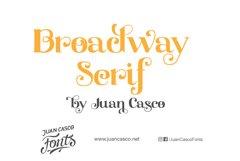 Broadway Serif Product Image 2
