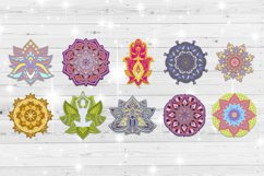 3D Mandala svg bundle Papercut SVG Zentangle Product Image 2