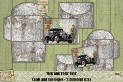 Vintage Cars | Cards | Envelopes | Masculine | Printable Product Image 3