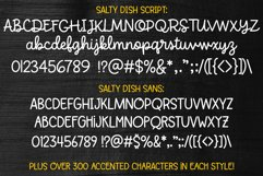Salty Dish - script and sans font duo! Product Image 2