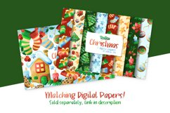 Christmas Watercolor Cliparts Product Image 2
