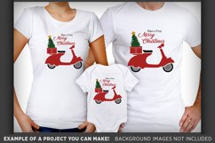 Scooter SVG - Have a Merry Christmas Scooter SVG - 32 Product Image 2