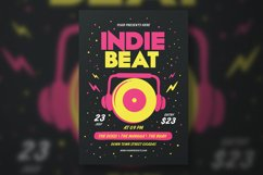 INDIE BEAT FLYER Product Image 1