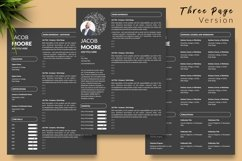 Creative Resume CV Bundle for Word & Pages Jacob Moor Product Image 6