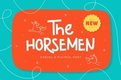 The Horsemen - Casual & Playful Font Product Image 1
