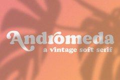 Andromeda // A Vintage Soft Serif Font Product Image 1