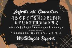 Zegirats - Quirky Font Product Image 6