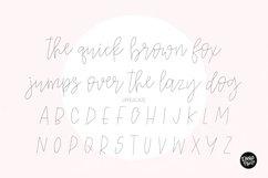 """""""SAHARA SKETCH"""" Sketch Font - Single Line/Hairline Font Product Image 2"""