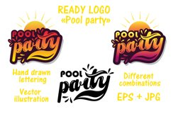 Party Bundle. Hand drawn lettering Product Image 5