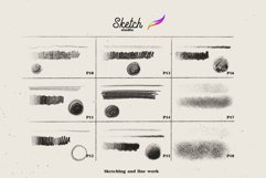 Sketch Studio Brushes for procreate Product Image 4