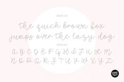 SKETCH FONT BUNDLE - 4 Single Line Fonts Product Image 3