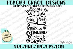 Welcome to Our Pool  SVG  Product Image 1