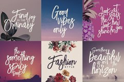 Lucky Fashion Brush Font Product Image 5
