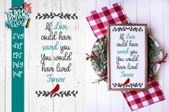 Live Forever Cardinal SVG Product Image 1