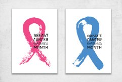 Cancer Awareness Month Ribbons   Posters   PNG SVG EPS JPG Product Image 3