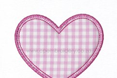 Simple Heart Applique Design Product Image 6