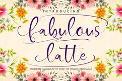 Fabulous Latte Product Image 2