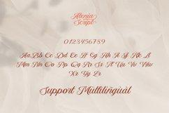 Aetrina Elegant Script Display Product Image 6