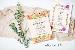 Floral Invitation Backgrounds Vol.2 Product Image 5