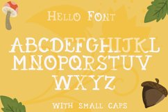 Hello Fall Font Product Image 3
