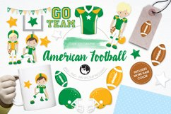 American Football graphics and illustrations Product Image 1