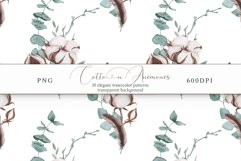Cotton & Anemones Seamless Patterns Product Image 14